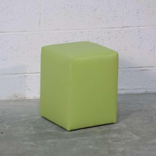 Pouf carré en synthétique – Quadra