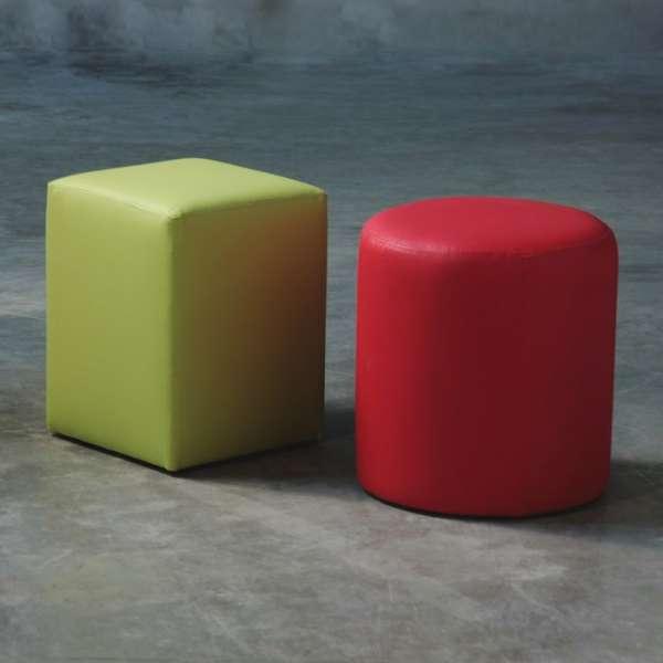Pouf carré tendance – Quadra - 5