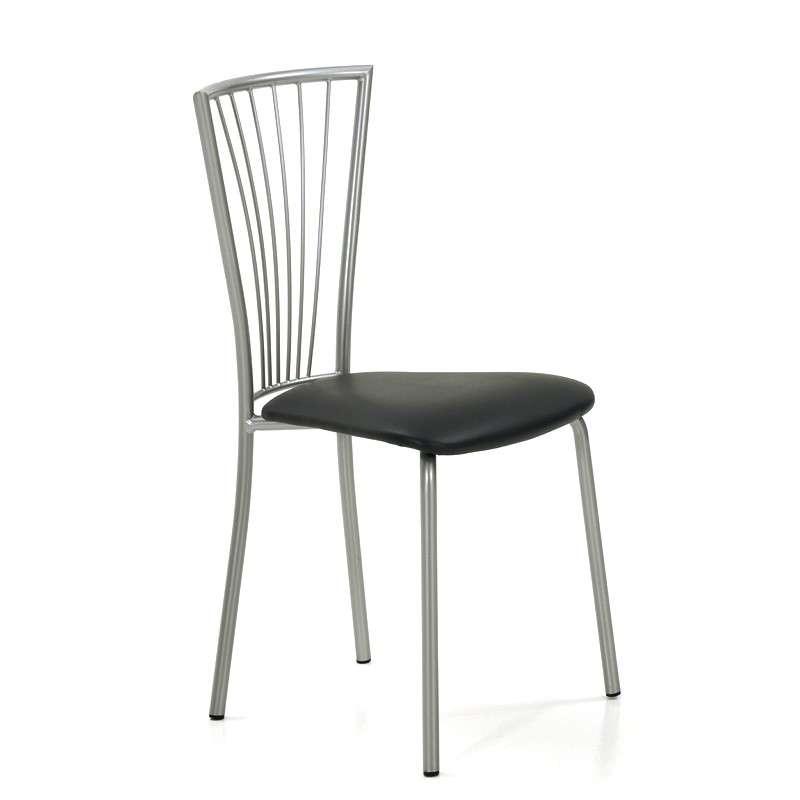Chaise de cuisine en m tal jana 4 pieds tables chaises et tabourets - Eco cuisine herblay ...
