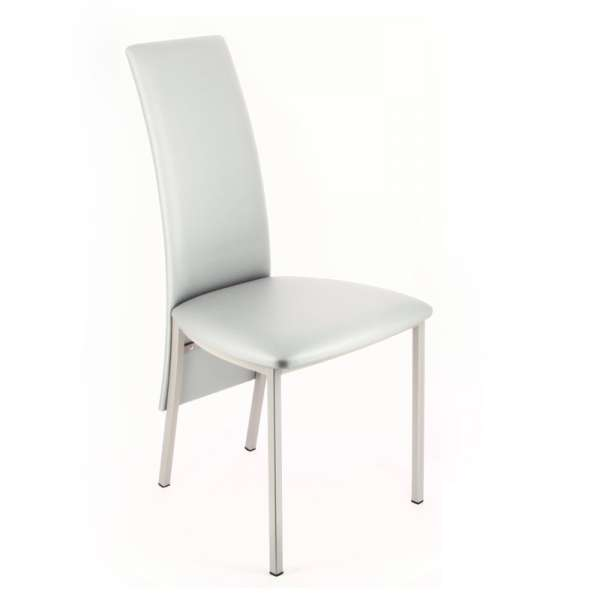 Chaise contemporaine de salle manger elyn 4 pieds for Chaise de salle a manger contemporaine