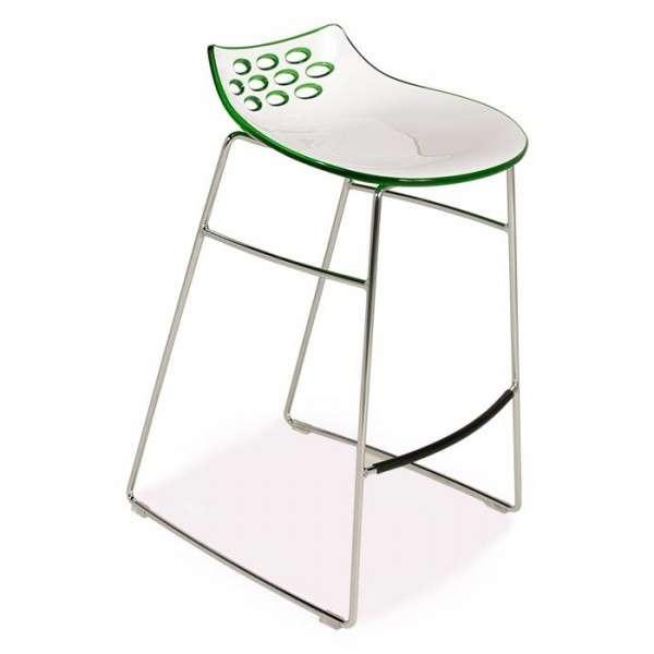 tabouret design snack en plexi hauteur 65 cm jam connubia 4 pieds tables chaises et. Black Bedroom Furniture Sets. Home Design Ideas