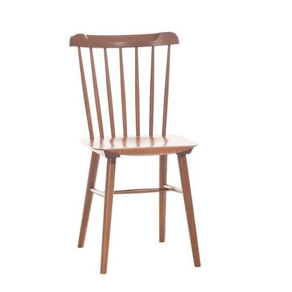 chaise brasserie en bois 4 pieds tables chaises et tabourets. Black Bedroom Furniture Sets. Home Design Ideas