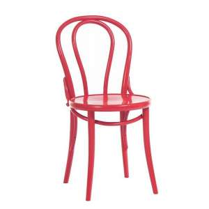 Chaise bistrot en bois 18