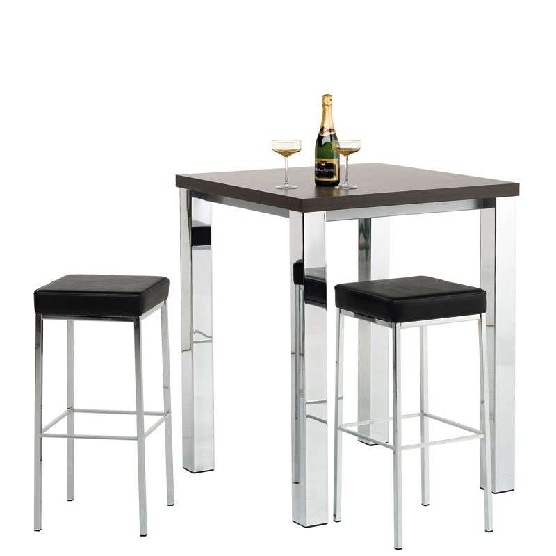 tabouret de bar sans dossier en m tal quadra 4 pieds. Black Bedroom Furniture Sets. Home Design Ideas
