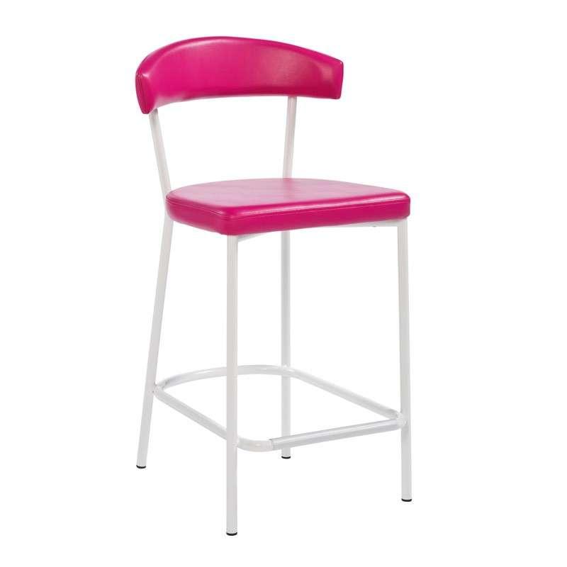 Tabouret de bar ou snack de cuisine elli 4 pieds tables chaises et tabou - Tabouret de cuisine 4 pieds ...