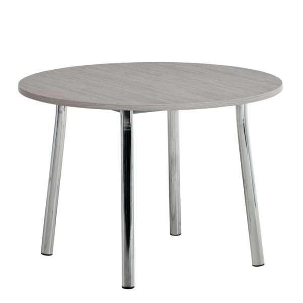 Table de cuisine ronde en stratifié - Elli 2 - 2