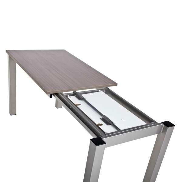 Table de cuisine rectangulaire en stratifié avec allonge Valencia - 10
