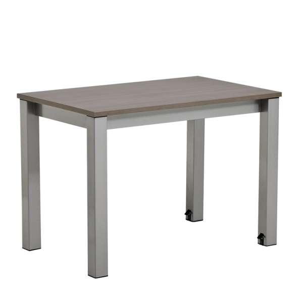 Table de cuisine rectangulaire en stratifié avec allonge Valencia - 7