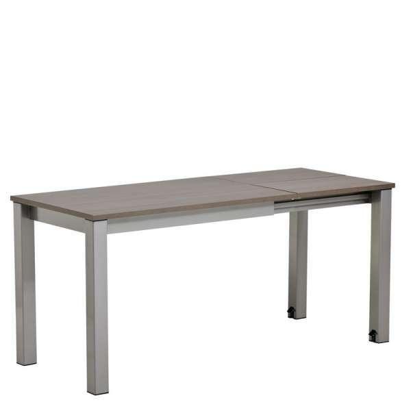 Table de cuisine rectangulaire en stratifié avec allonge Valencia - 8