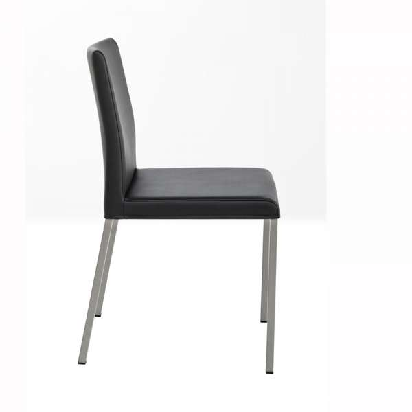 Chaise de cuisine en vinyl et métal - Gaudi 2 - 2