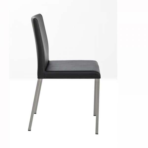 Cuisine Design Ouverte Sur Salon : Chaise de cuisine en vinyle et métal  Gaudi  4 Pieds  tables