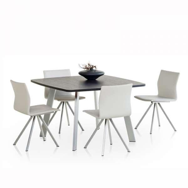 Chaise design en métal Silva - 2