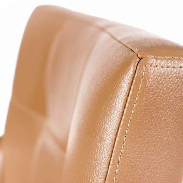 Fauteuil contemporain marron - Matiz-4 - 5