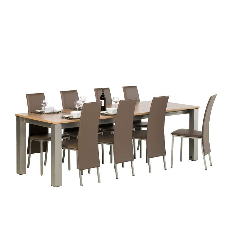 chaises contemporaines salle a manger conceptions de. Black Bedroom Furniture Sets. Home Design Ideas