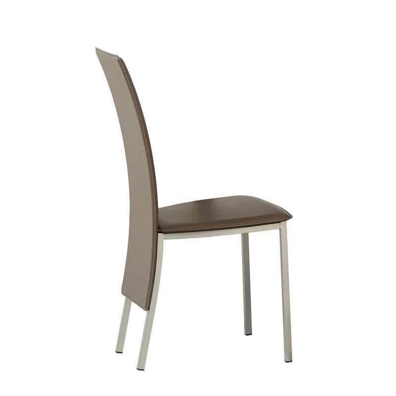 chaise contemporaine de salle manger elyn 4 pieds tables chaises et tabourets. Black Bedroom Furniture Sets. Home Design Ideas
