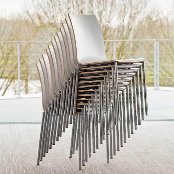 Chaise moderne en métal et stratifié - Pro's 25 - 25