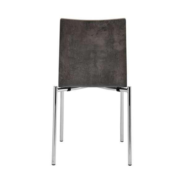 Chaise moderne en métal et stratifié - Pro's 4 - 4