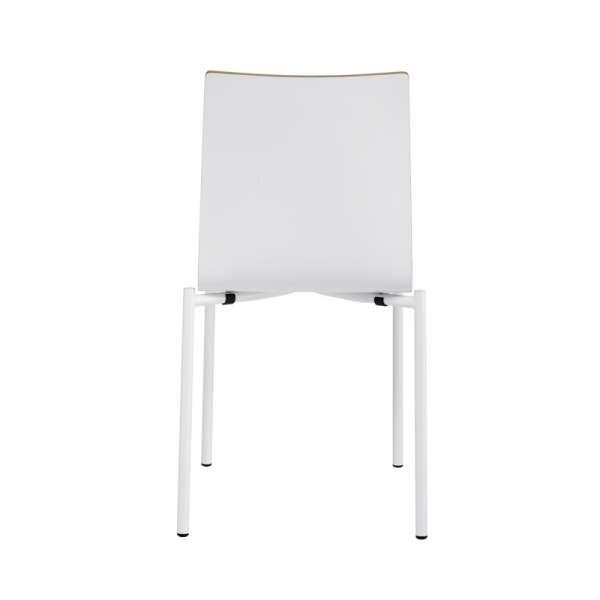 Chaise moderne en métal et stratifié - Pro's 18 - 18