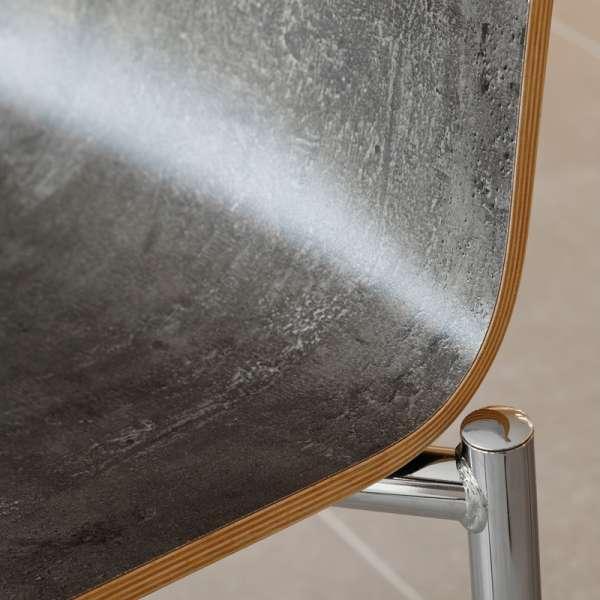 Chaise moderne en métal et stratifié - Pro's 5 - 5