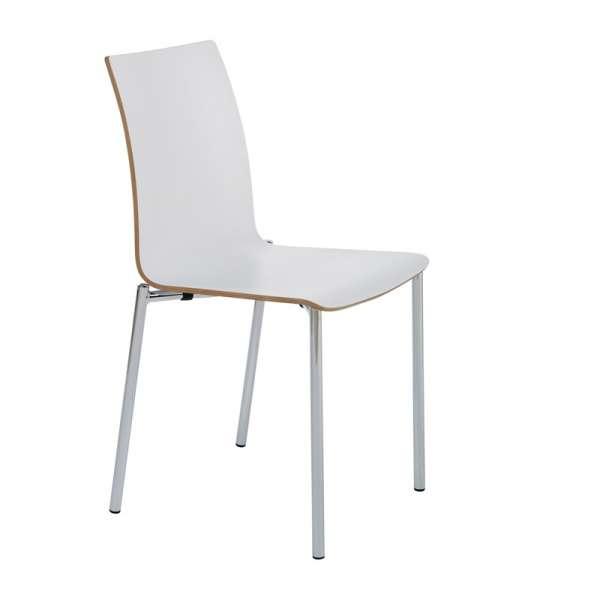 Chaise moderne en métal et stratifié - Pro's 16 - 16
