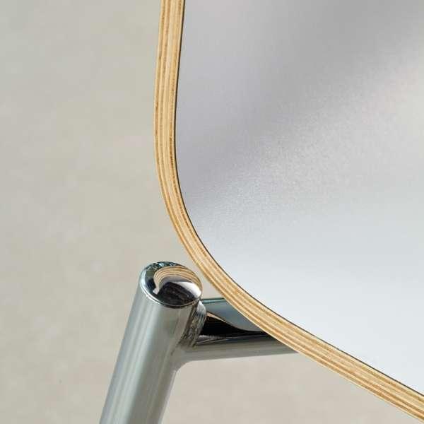 Chaise moderne en métal et stratifié - Pro's 23 - 23