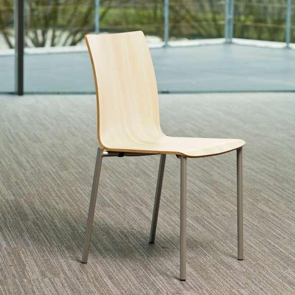 Chaise moderne en métal et stratifié - Pro's 15 - 15