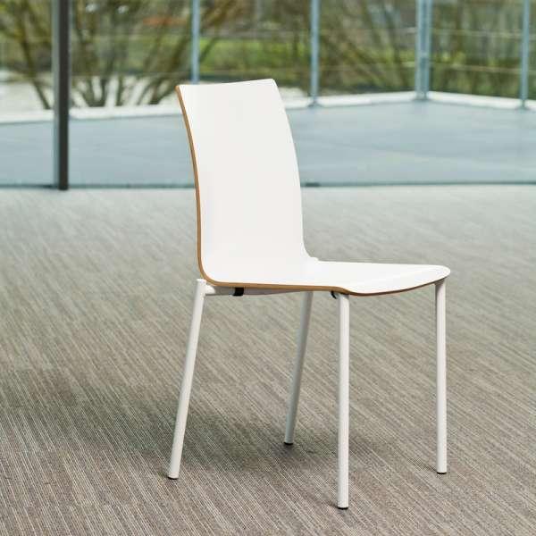 Chaise moderne en métal et stratifié - Pro's 24 - 24