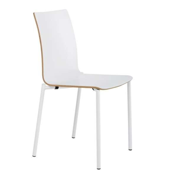Chaise moderne en métal et stratifié - Pro's 17 - 17