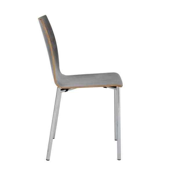 Chaise moderne en métal et stratifié - Pro's 3 - 3