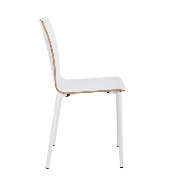 Chaise moderne en métal et stratifié - Pro's 22 - 22