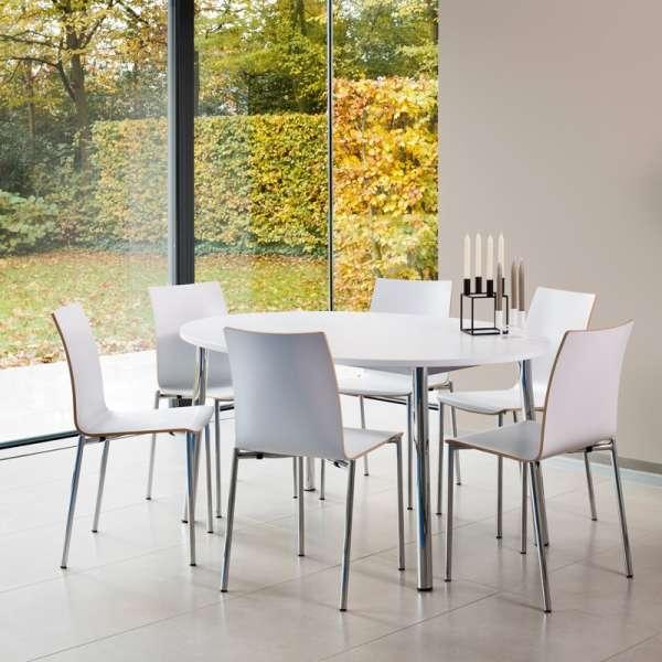 Chaise moderne en métal et stratifié - Pro's 28 - 28