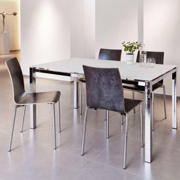 Chaise moderne en métal et stratifié - Pro's 29 - 29