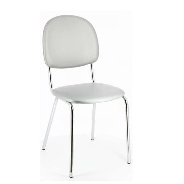 Chaise de cuisine en métal et synthétique - STR05 8 - 8