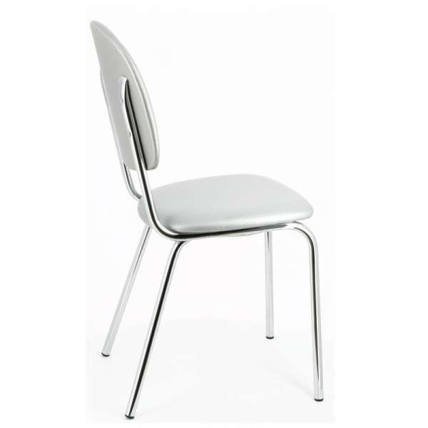 Chaise de cuisine en métal et synthétique - STR05 10 - 10