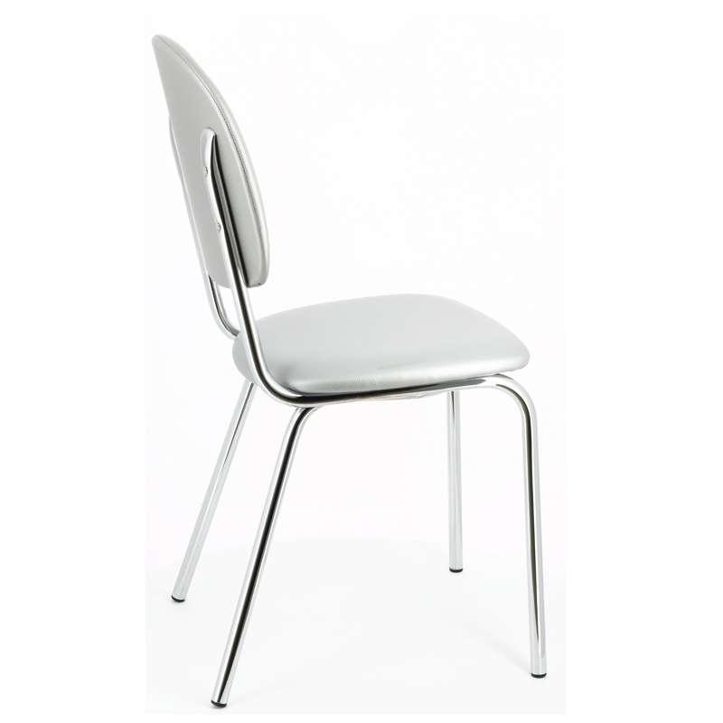 chaise de cuisine en m tal str05 4 pieds tables chaises et tabourets. Black Bedroom Furniture Sets. Home Design Ideas