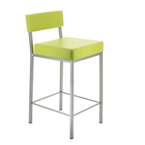 tabouret moderne en m tal quinta 4 pieds tables. Black Bedroom Furniture Sets. Home Design Ideas