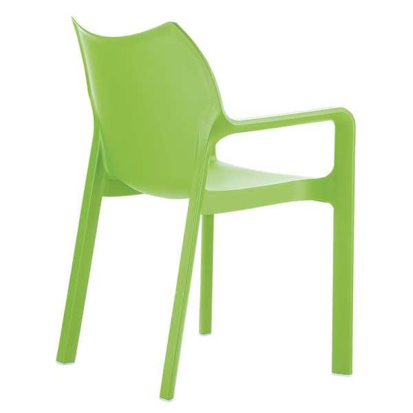 Fauteuil vert en polypropylène - Diva - 15