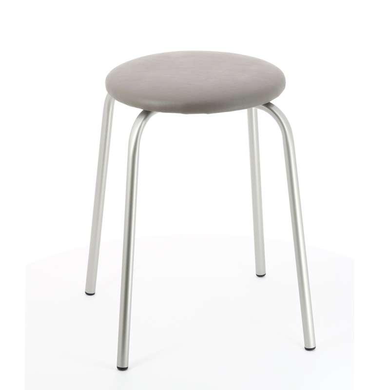 tabouret bas empilable 4 pieds tables chaises et tabourets. Black Bedroom Furniture Sets. Home Design Ideas