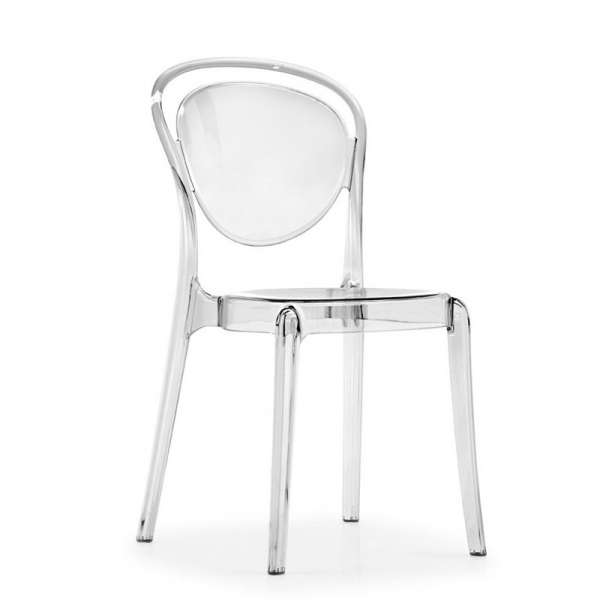 Chaise design en plexi Parisienne Calligaris® - 1