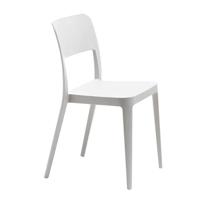 Chaise contemporaine en polypropyl ne nen midj 4 pieds tables chaise - Chaise en polypropylene ...