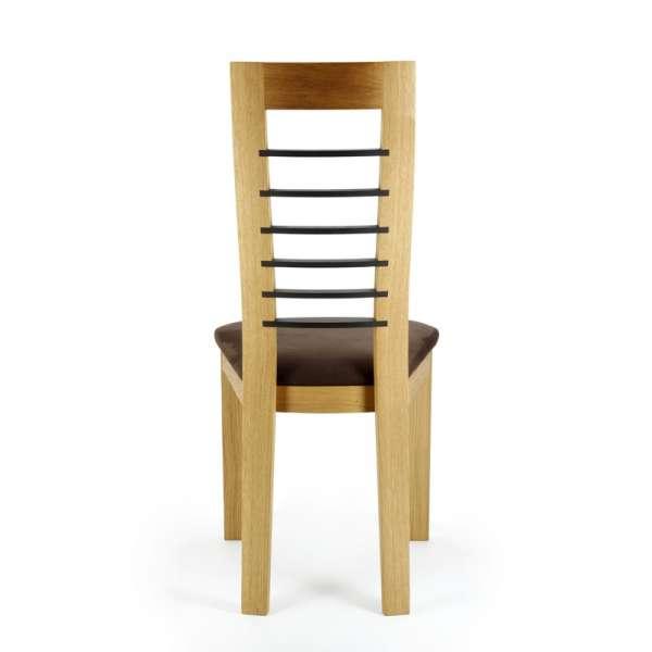 Chaise contemporaine Cannelle en chêne - 4