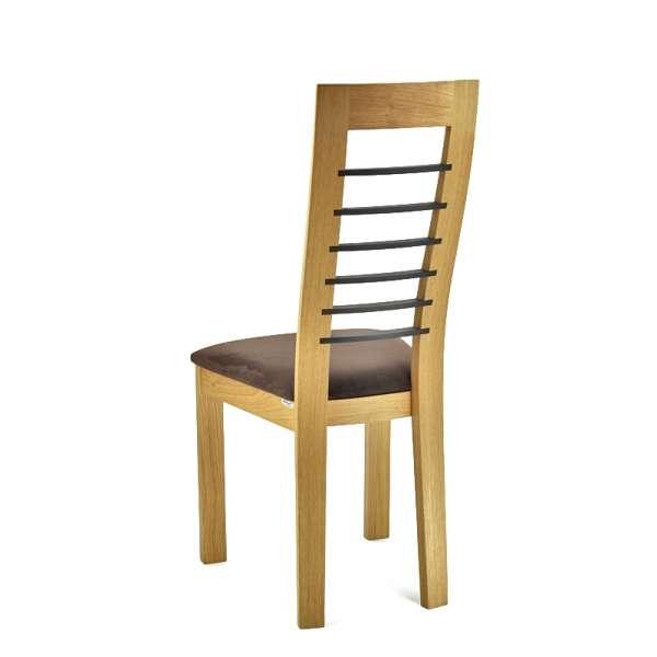 Chaise contemporaine Cannelle en chêne - 5