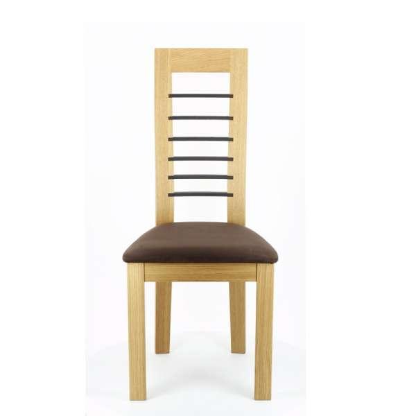 Chaise contemporaine Cannelle en chêne - 6