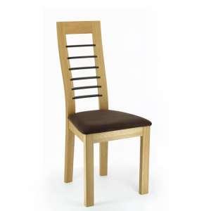 Chaise contemporaine Cannelle en chêne