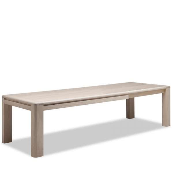 Table de salle à manger contemporaine en Chêne massif - Carrée ou Rectangle - 3