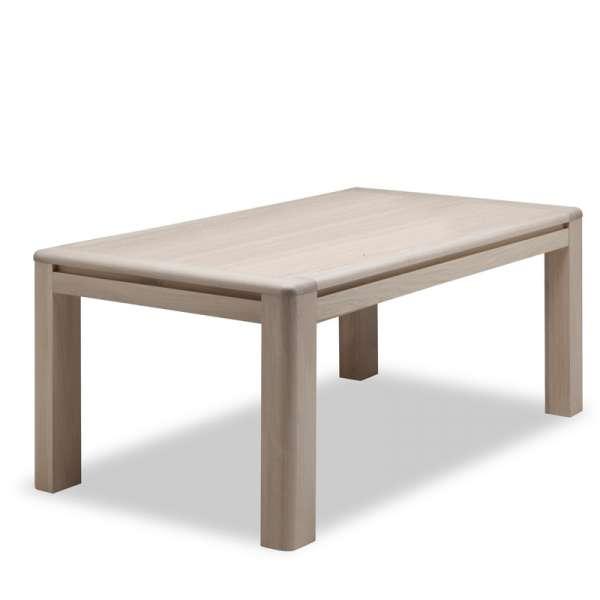 Table de salle à manger en chêne massif - Conception F