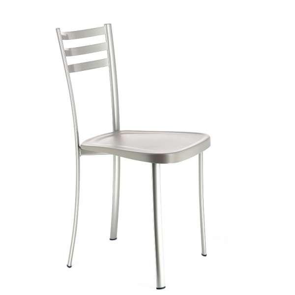 Chaise de cuisine en métal avec assise en polypropylène - Ace 1320 1 - 2