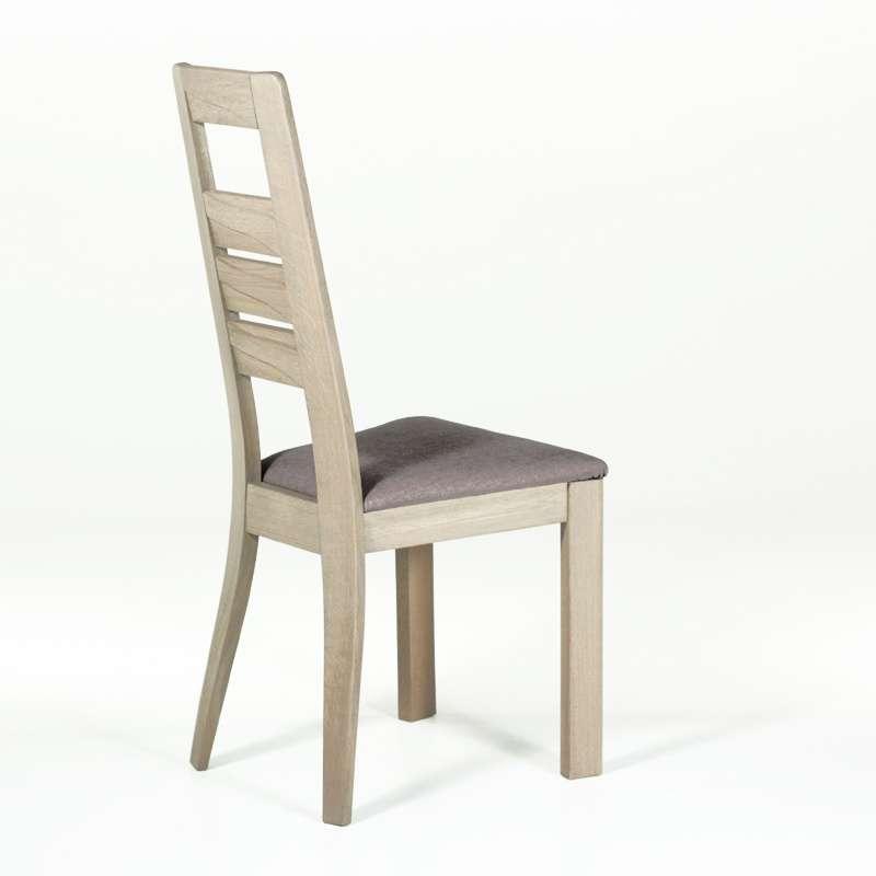 chaise contemporaine en ch ne 4 pieds tables chaises. Black Bedroom Furniture Sets. Home Design Ideas