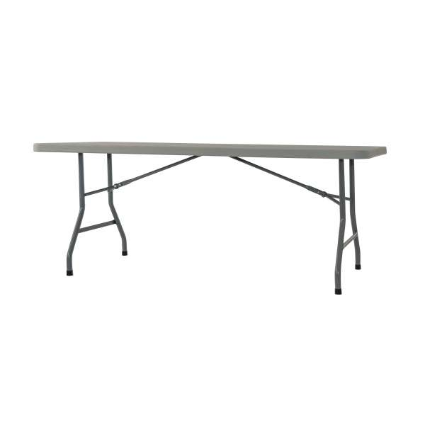 Table pliante en plastique max 180 4 pieds tables for Table 4 pieds