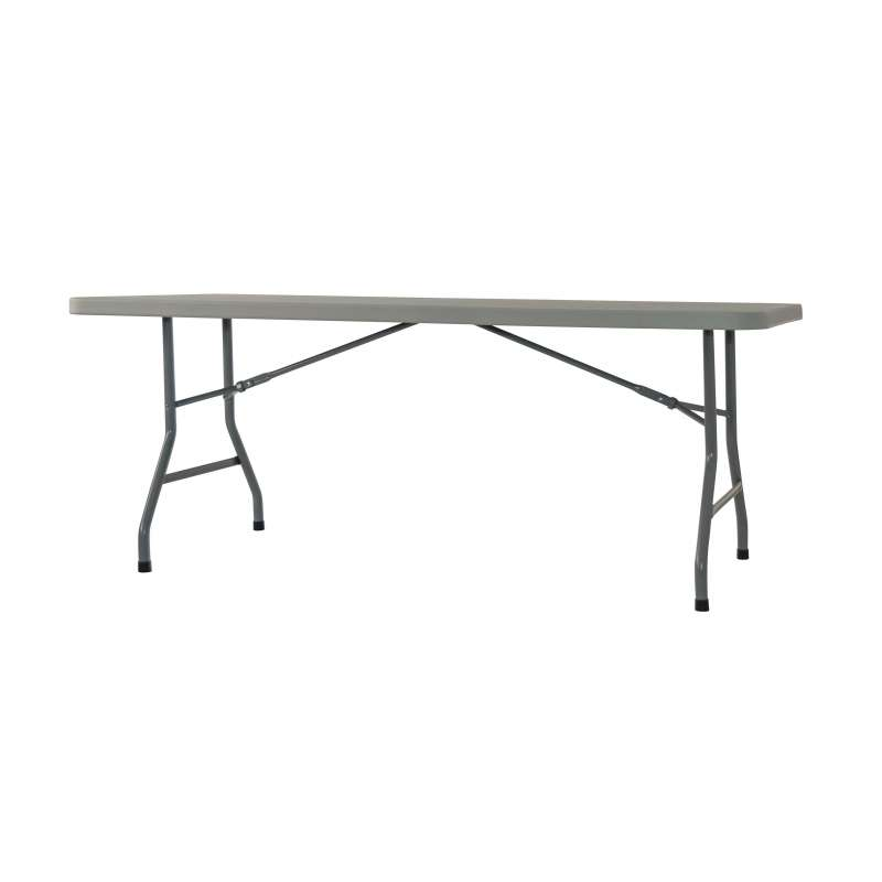 Table pliante en plastique max 180 4 pieds tables chaises et tabourets - Table pliante de collectivite ...